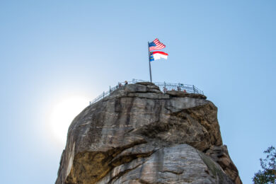 Chimney Rock to Partially Reopen After Retaining Wall Collapse