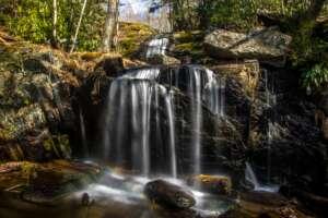 Waterfalls Park of Newland North Carolina
