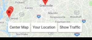 Your Location on the Map!