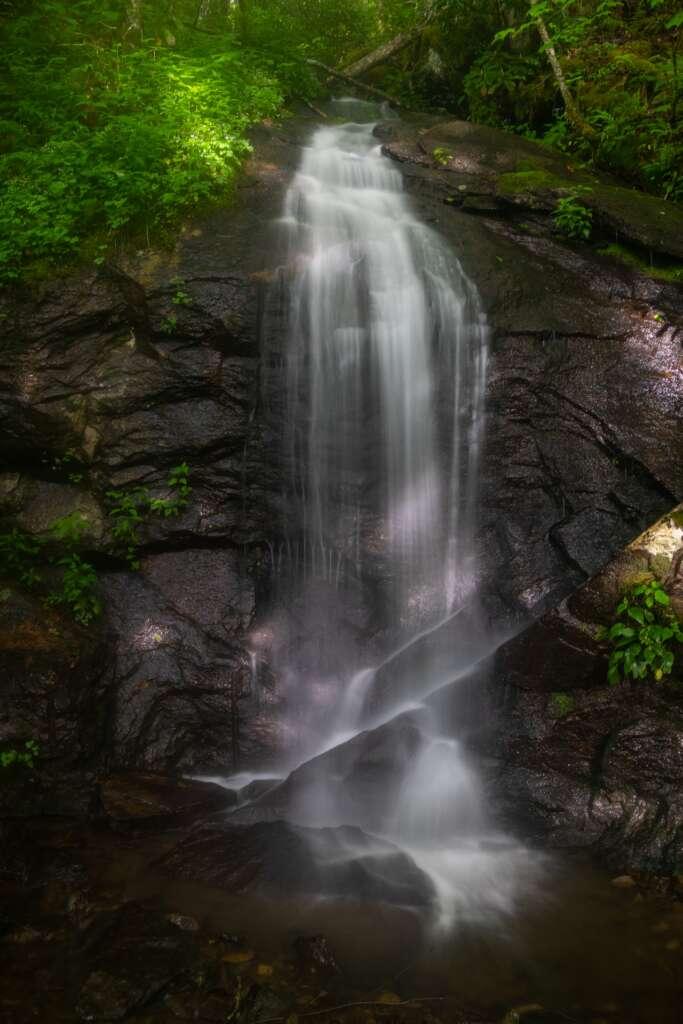 Roadside Waterfall Near Douglass Falls