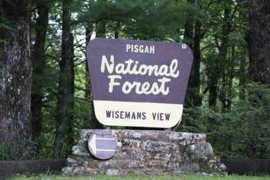 Pisgah National Forest is Closed