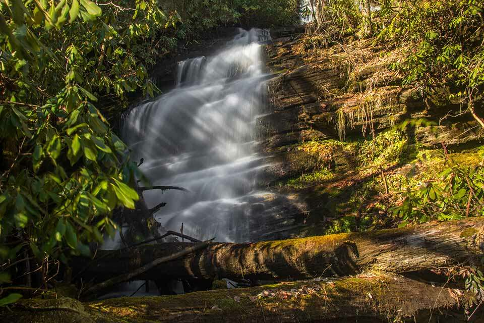 Bee Cove Falls Second Falls