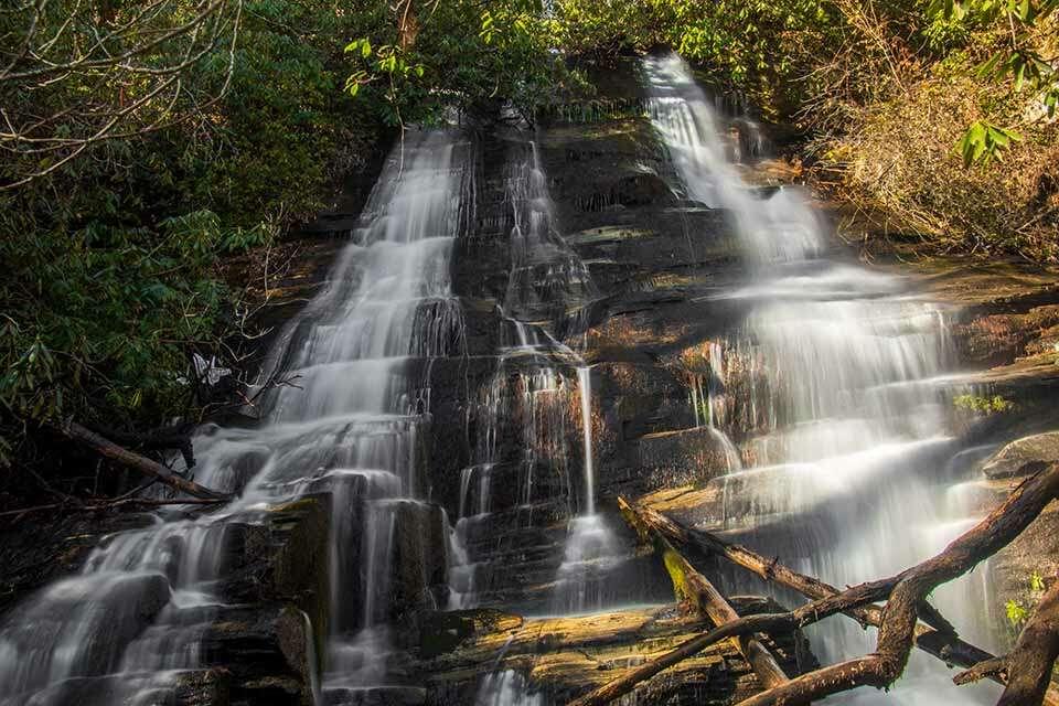 Bee Cove Falls Upper Falls
