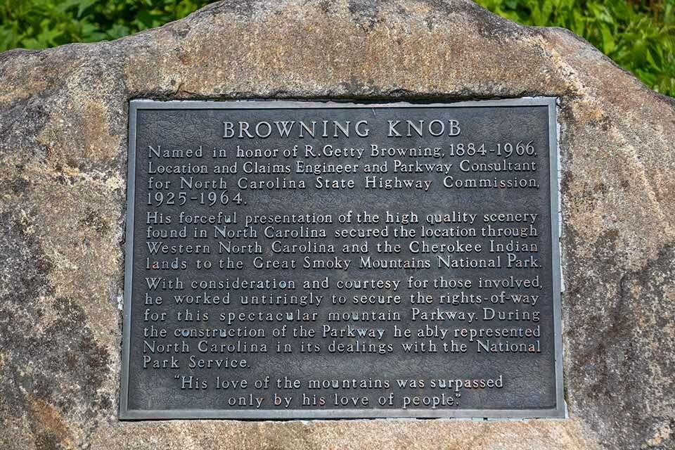 Browning Knob Plaque