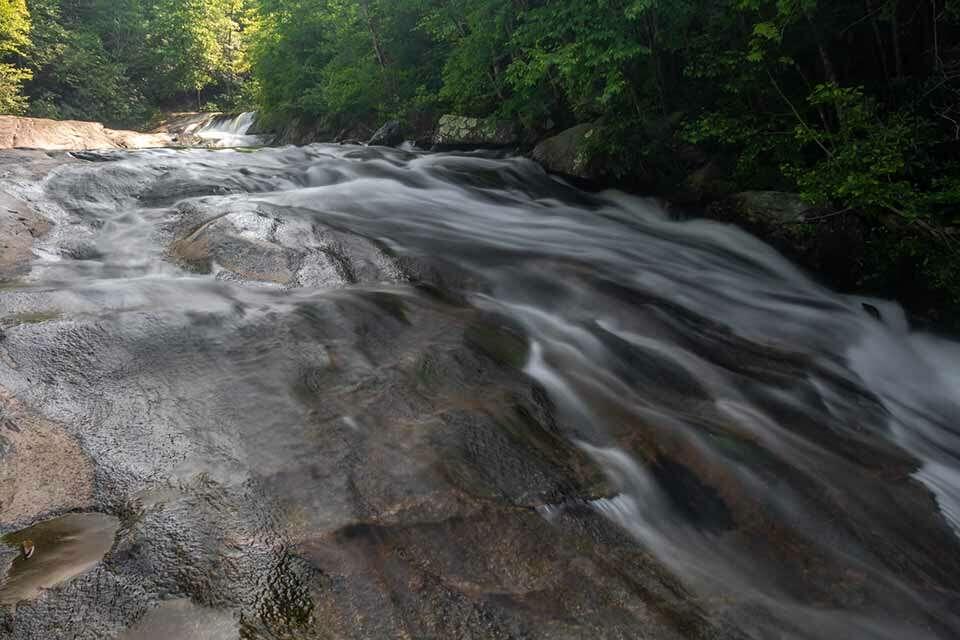 Cascade Below Hunt Fish Falls