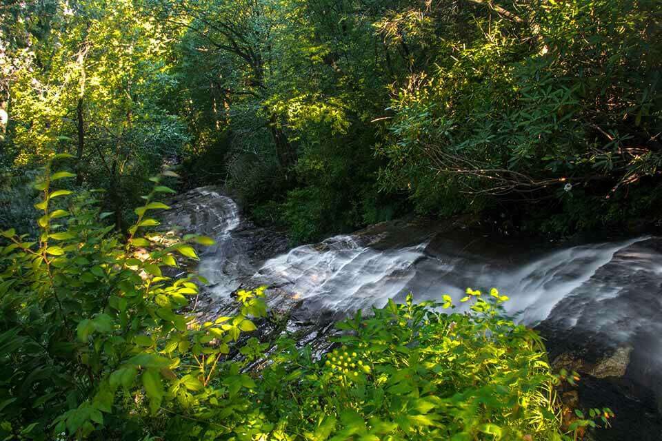 Cascade Falls Upper Overlook