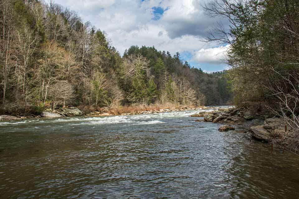 Chattooga River From Long Creek