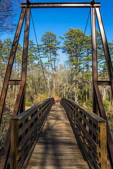 Chau Ram County Park Bridge