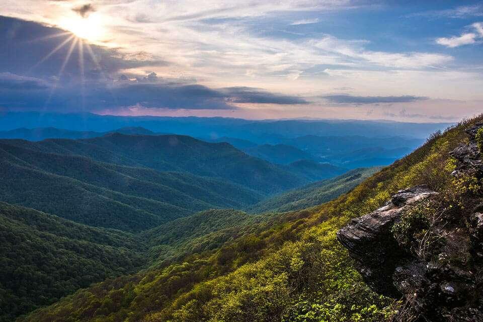 Craggy Pinnacle View