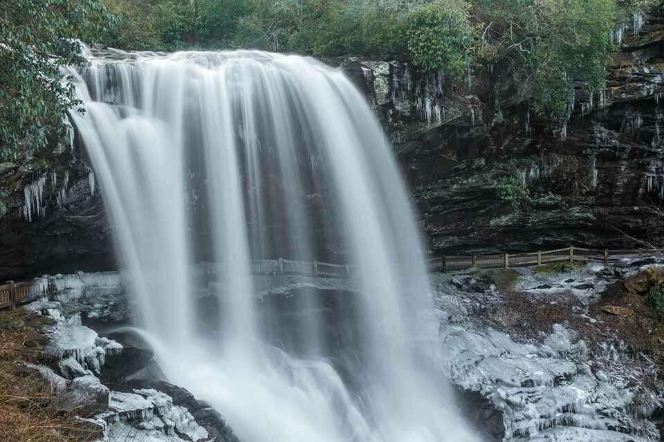 Dry Falls Winter