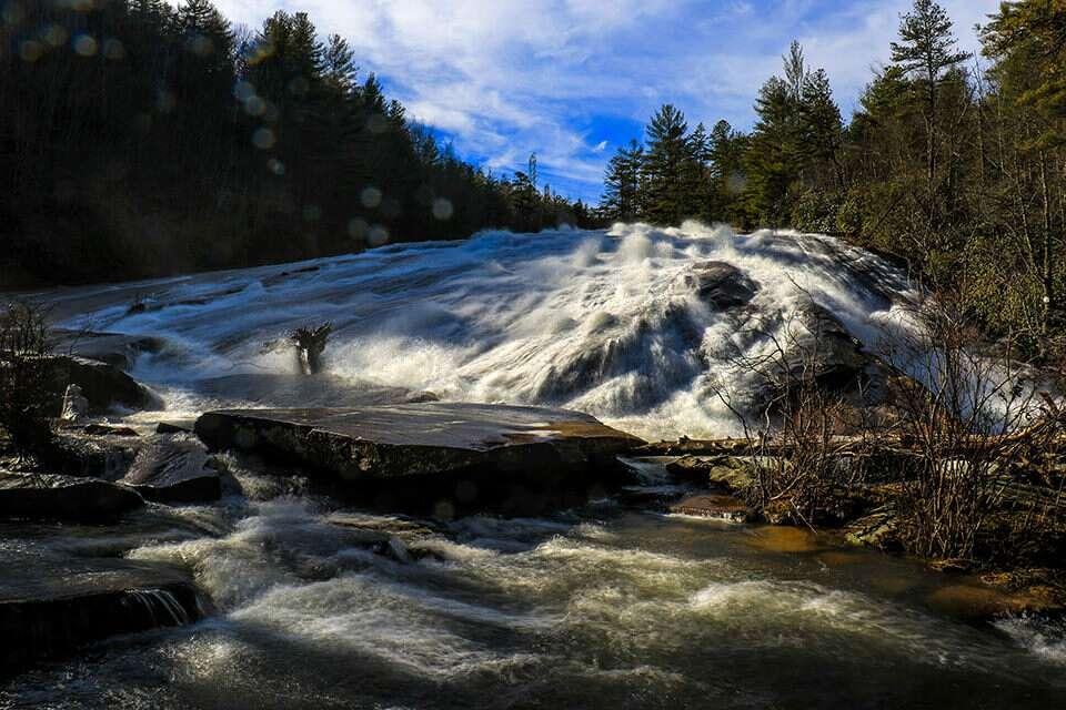 DuPont Bridal Veil Falls