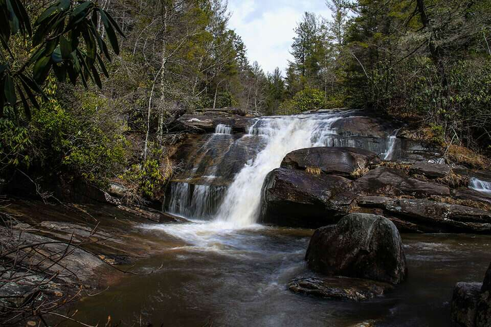 DuPont Wintergreen Falls