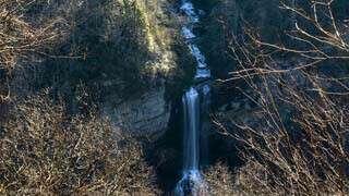 Raven Cliff Falls Overlook