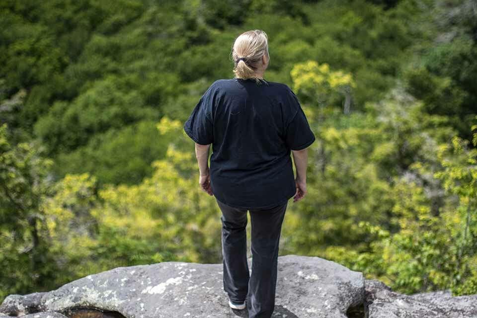 Flat Rock Trail Overlook