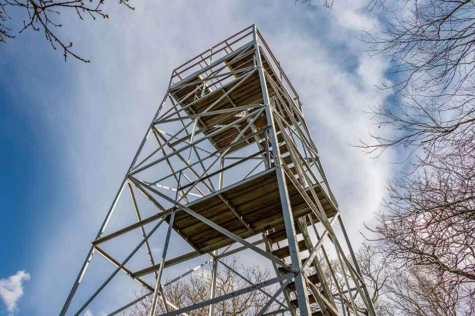 Flat Top Mountain Tower