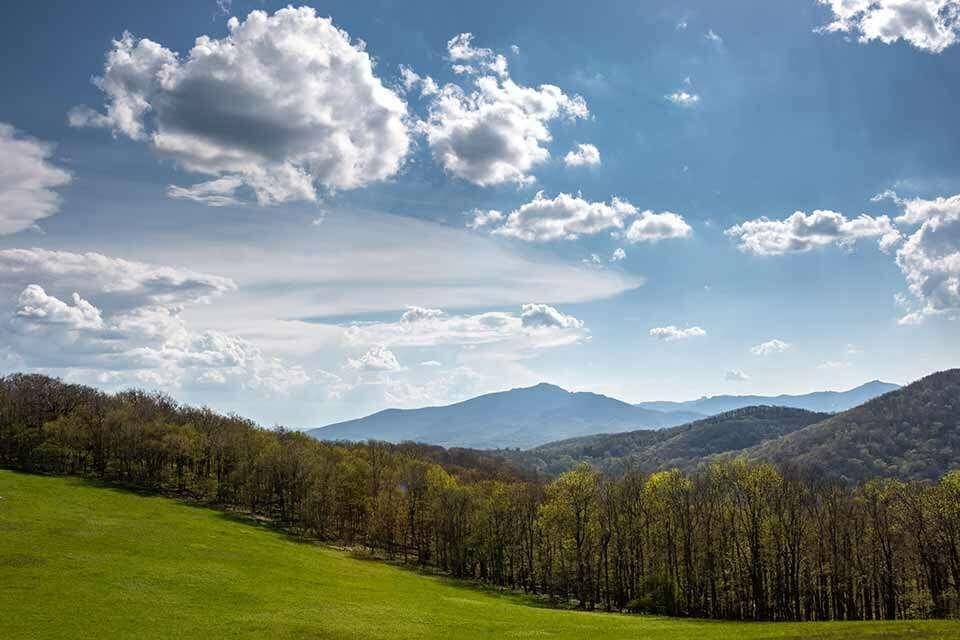 Flat Top Mountain View