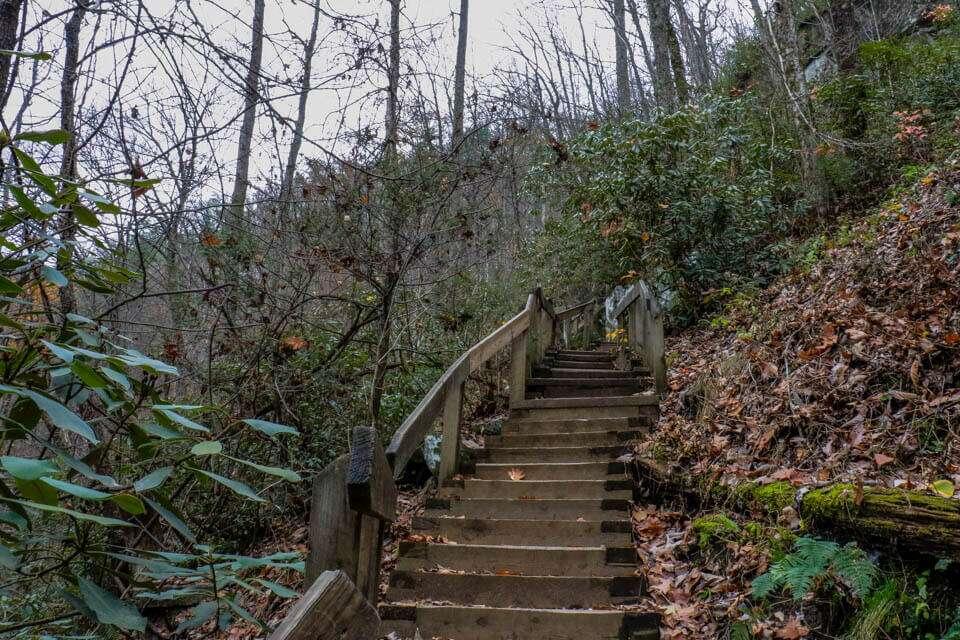 High Shoals Falls Trail