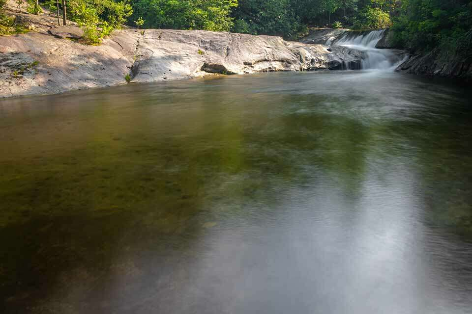 Hunt Fish Falls with Swimming Hole