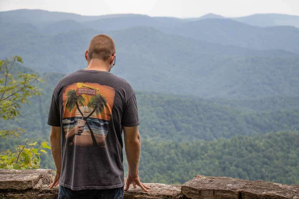 Jumpinoff Rock View