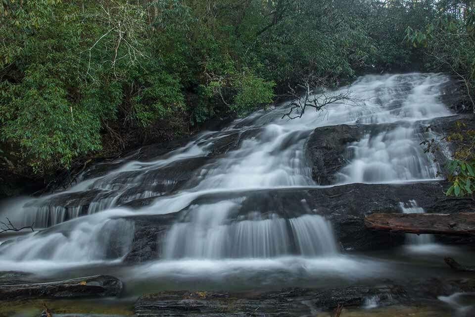 Licklog Falls
