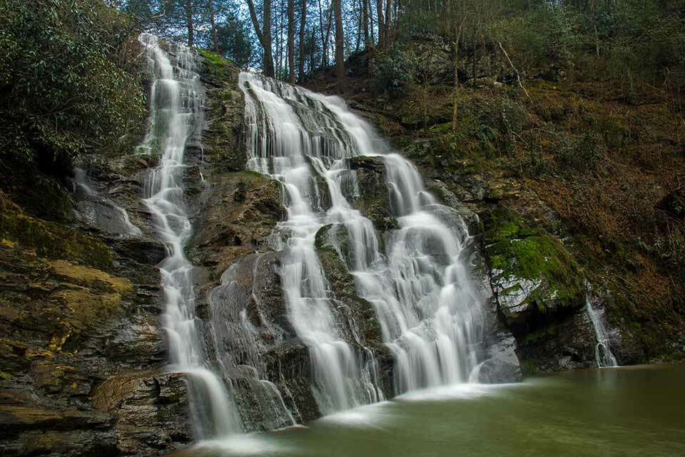 Little Brasstown Falls