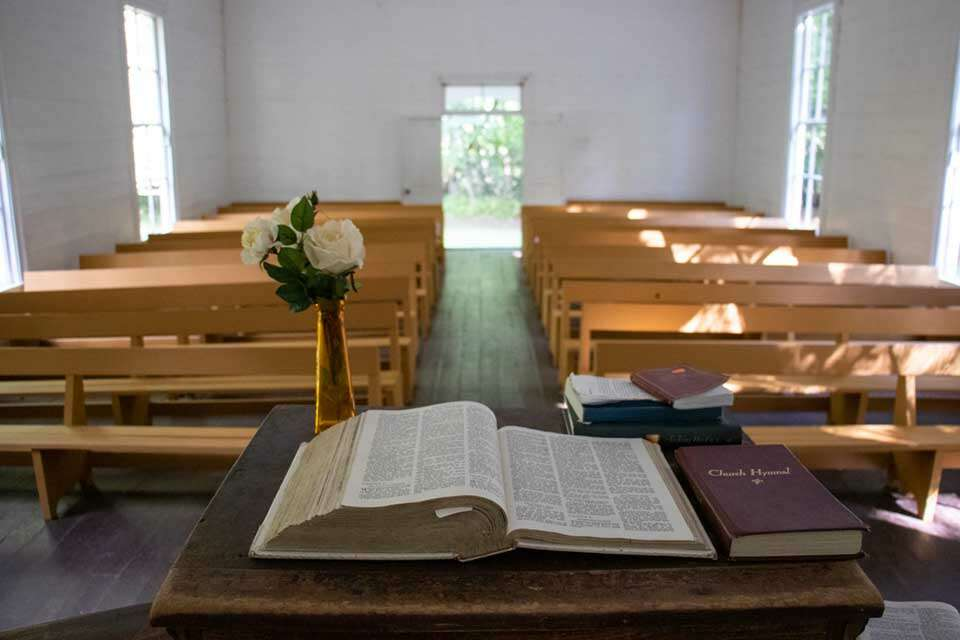 Palmer Chapel Inside