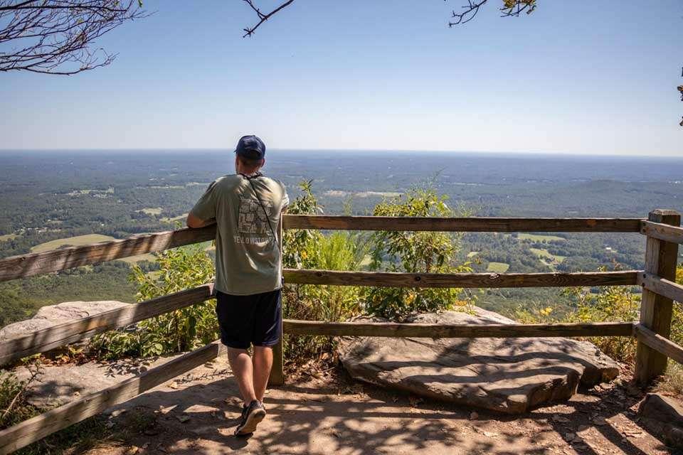 Pilot Mountain State Park-Overlook