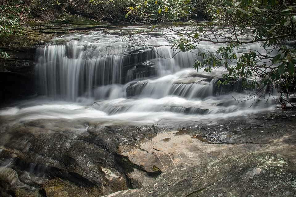 Raven Cliff Falls Upper Cascade