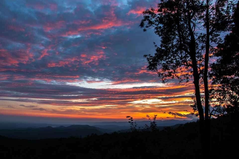 Sassafras Mountain Sunset