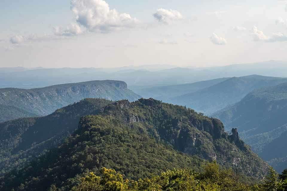 Table Rock Mountain Facing Chimneys