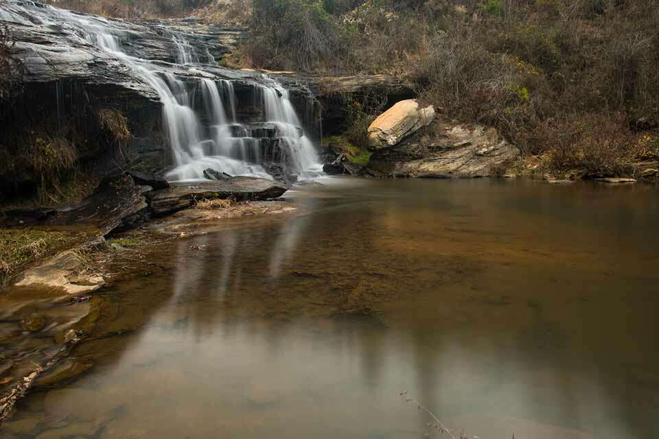 Todd Creek Falls with Pond