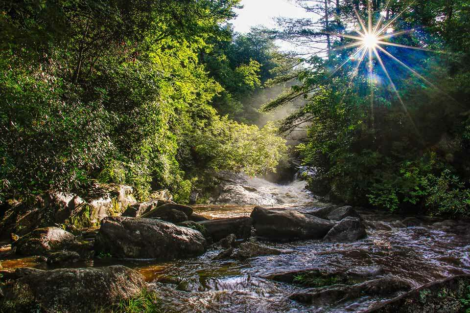 Upper Creek Falls High Water