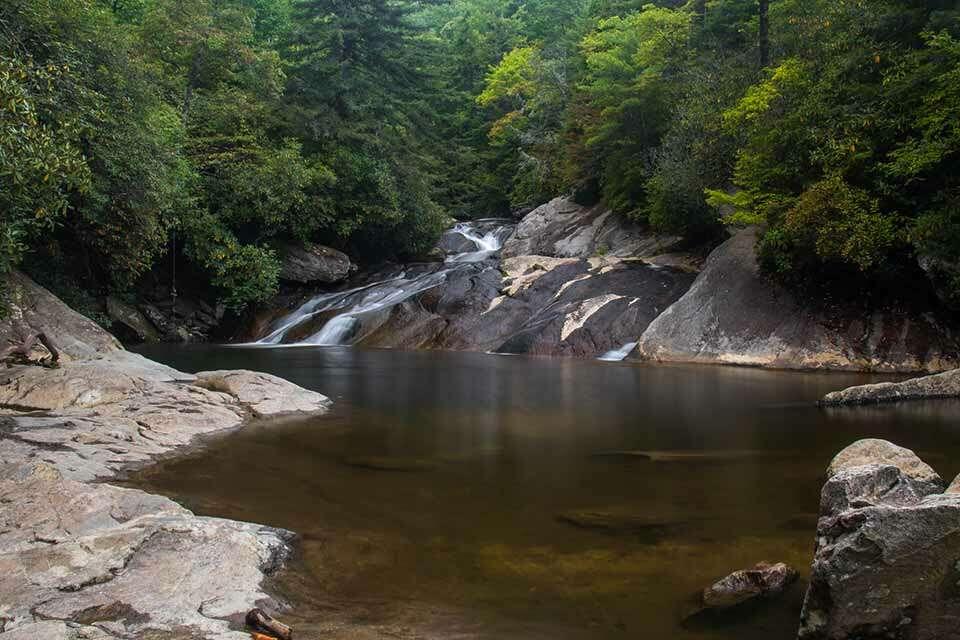 Upper Creek Falls Swimming Hole